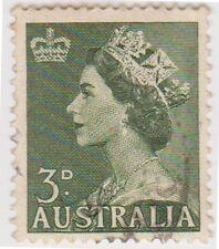 (W915) 1953 AU 3d green QEII (E)