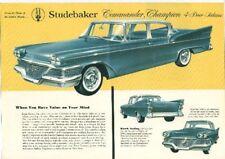 Studebaker 1958 Commander 4dr Brochure-