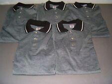 5 Black & Cream Red Kap Performance Knit Short Sleeve Size Medium Shirts- $109