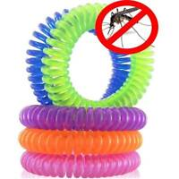 10Pcs Portable Useful Chic Mosquito Repellent Bracelets  Easter Wrist Bands