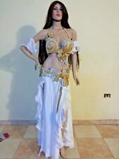 mega sale Egyptian Belly Dance Costume Set Professional Dancing handmade outfit