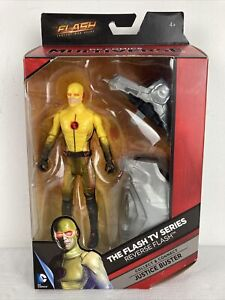 DC COMICS MULTIVERSE TV SERIES REVERSE FLASH ACTION FIGURE (2015) MATTEL