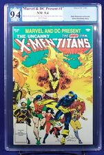Marvel & DC Present #1 X-Men & New Teen Titans graded PGX (not CGC) 9.4 NM