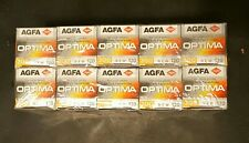 AGFA Optima 200 Professional 120 Film Reg Color Saturation 10X  Expired 04/2004