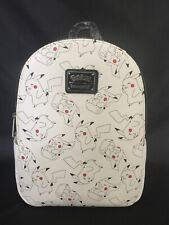 NWT Loungefly Pokemon AOP Allover Print Pikachu Mini Backpack EXCLUSIVE