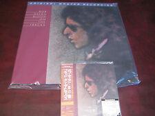 BLOOD ON THE TRACKS BOB DYLAN MFSL 180 GRAM LP + JAPAN REPLICA ORIGINALOBI CD