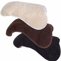 Aerborn Horse Riding Saddle Seat Saver Laminated Fleece / Foam Elasticated Strap