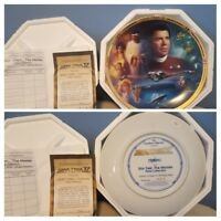 Star Trek IV The Voyage Home Movie Plate Series 1994 The Hamilton PLATE # 2944 C