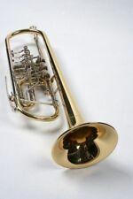Bb Konzerttrompete  mit Trigger Drehventile