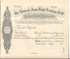 1908? India share certificate: The Howrah-Amta Light Railway Co Ltd small share