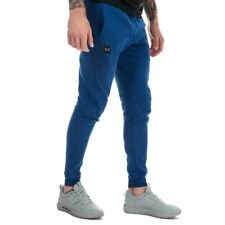 Men's Under Armour Rival Fleece Jog Pants in Blue