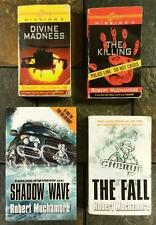 Robert Muchamore 4 Cherub Novels The Killing Divine Madness The Fall Shadow Wave