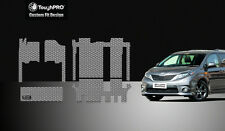 ToughPRO Grey Rubber Heavy Duty 2011-2018 Toyota Sienna 8 Seater Floor Mats