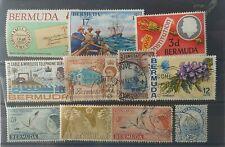 Colonie anglaise (bermuda)Timbres oblitérés divers