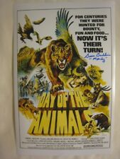 Susan Backlinie Signed DAY OF THE ANIMALS 11x17 Photo Poster - JSA (WP) COA