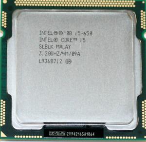 Lot (20 units) of Intel CPU Core i5-650 3.2GHz LGA1156