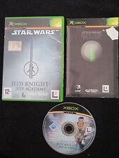 XBOX : STAR WARS JEDI KNIGHT : JEDI ACADEMY - Completo ! Compatibile Xbox 360