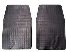 Front Waterproof Rubber Car Mats 2 Piece For Jaguar X-Type K-Type S-Type