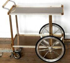 Vintage Retro 60s Hostess Serving Trolley Two Tier Mid Century Kitsch