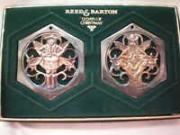 Reed & Barton 12 Days of Christmas Ornaments Silverplate