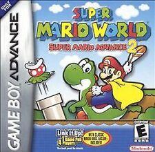 Super Mario World: Super Mario Advance 2 (Nintendo Game Boy Advance, 2002)