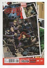 "Secret Avengers (2013-2014) #1 ""Budapest"" 1st Print (NM) Black Widow Hawkeye"