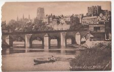 Durham, Elvet Bridge PPC Unposted, by Francis Frith