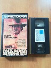 PALE RIDER DER NAMENLOSER REITER Clint Eastwood  - VHS VIDEO