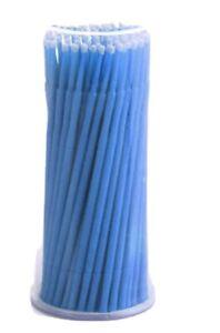 100Pcs Disposable  Dental Swabs Micro Applicator Brush Stick Eyelash Extension