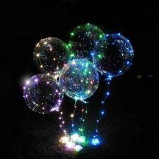 5set US LED Light Transparent Balloon Colorful Wedding Birthday Xmas Party Decor