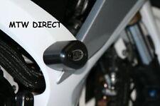 SUZUKI GSXR600 GSXR750 2006-10 R&G BLACK AERO CRASH PROTECTORS K6 TO L0