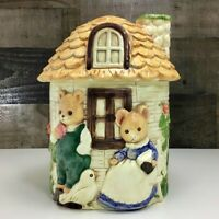"Vintage Takahashi Pottery ~ Storybook Cottage Cookie Jar ~ 10"" H ~ Japan ~ Mint!"
