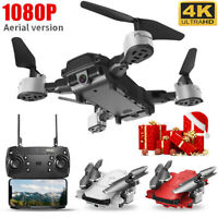 Foldable Quadcopter Drone 1080P HD With WIFI FPV Camera Positioning Quadcopter