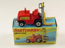 Matchbox Superfast 15 Montacargas Menta en caja Muy Rara Hybrid I2/K