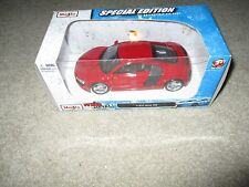 Maisto Fresh Metal Special Edition Audi R8 Red Die-Cast 1:24 Scale MISB 2010