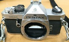 Pentax MX 35mm SLR film camera silver (body only) - Untested