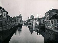 COURTRAI c. 1910 - Bateaux Péniche Belgique - DIV1324