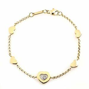 Chopard Happy Diamond Hearts Bracelet 18K Yellow Gold with Diamond