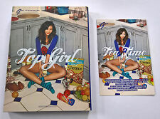 G.NA 2nd Mini Album Top Girl Korean Press CD + Postcard K-POP