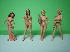 O  SCALE  FIGURES  SET  103  NUDE  GIRLS  UNPAINTED  BY  VROOM  1/43