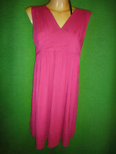 NEW Fuchsia PINK Dote Maternity Nursing Dress Size XL JERSEY KNIT TORY BAMBOO