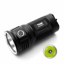 ThruNite TN36 NW 6510 Lumen CREE MK-R LED Flashlight Black