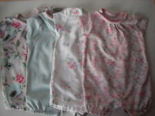 NEXT BABY GIRL ROMPER 4 PIECE SET PRETTY FLOWERS UP TO 3 MTHS