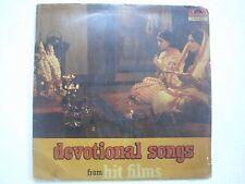 DEVOTIONAL SONGS HIT FILMS MANNA MAHENDRA LATA RAFI 1975 LP HINDI DEVOTION VG+