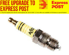 """Accel U-Groove Shorty Spark Plugs .460"""" reach, Projected tip, Tapered seat, S T6"""