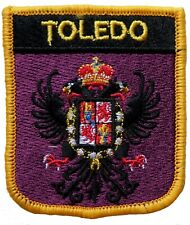 Toledo Spain Shield Embroidered Patch