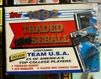 1992 Topps Traded Baseball Card Set- Factory Sealed NOMAR Rookie Card!