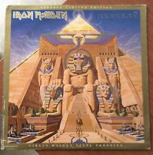 IRON MAIDEN 'POWERSLAVE' Capitol Special Limited Edition USA PROMO