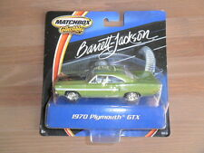 Matchbox Collectibles Barrett-Jackson 1970 Plymouth GTX Unopened MIB