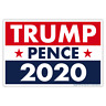 """Political Campaign Yard Sign w/Stake, Trump Pence 2020, 18"""" x 12"""" (2-Sided)"""
